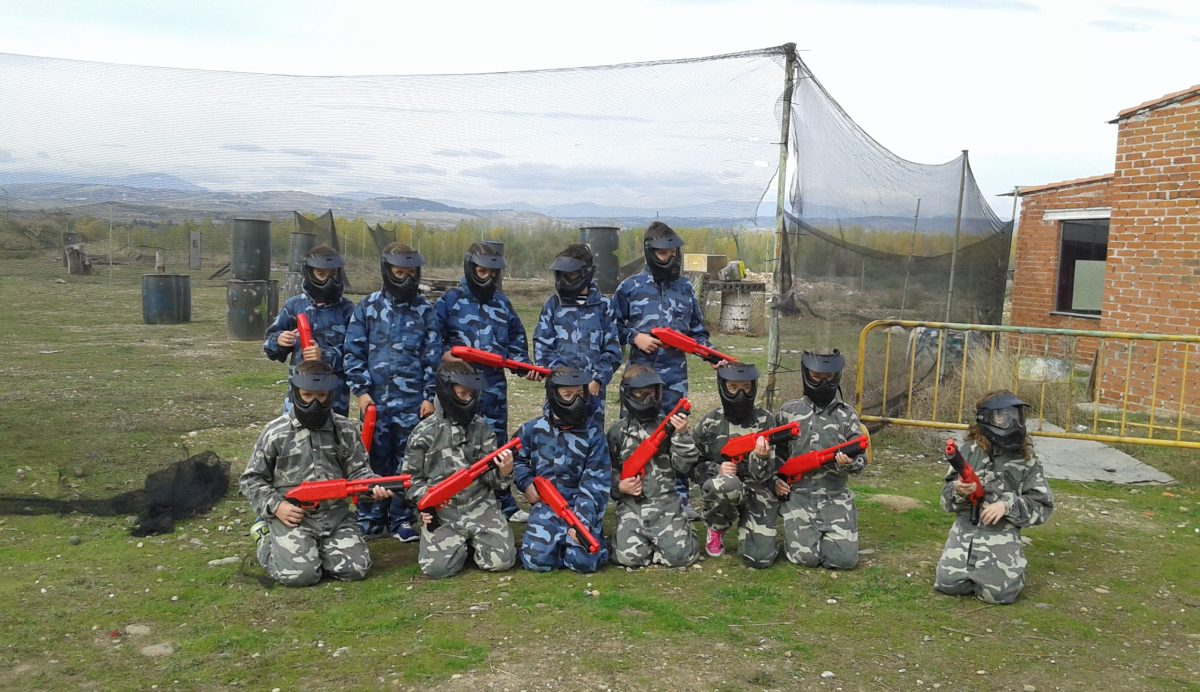 paintball chicas